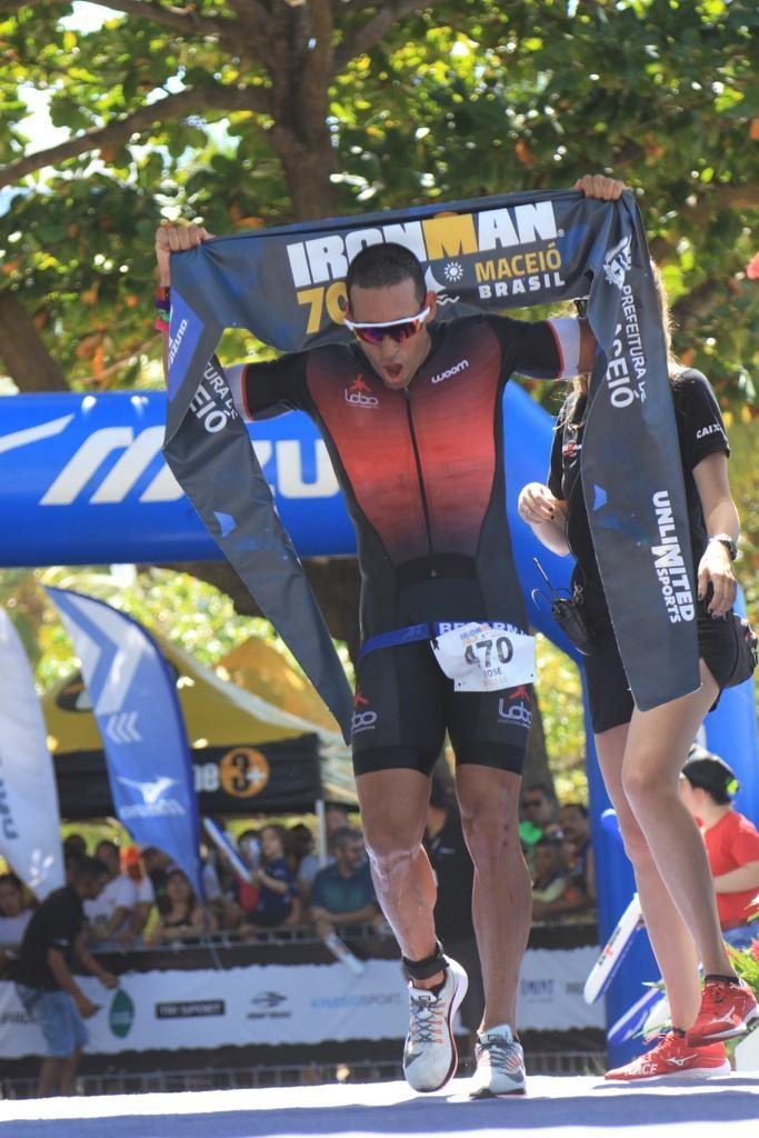 José Belarmino venceu entre os homens