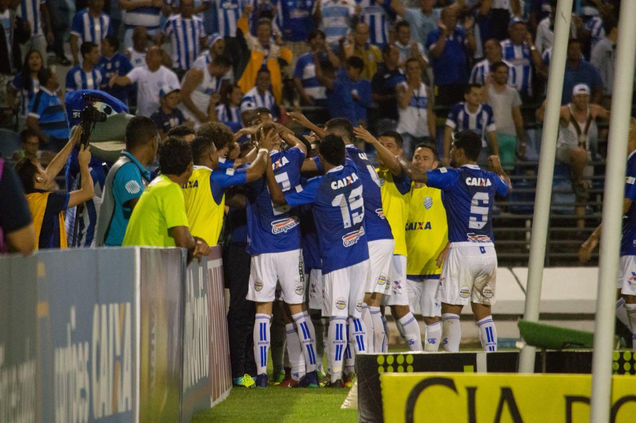 Equipe azulina tem campanha de destaque na competição