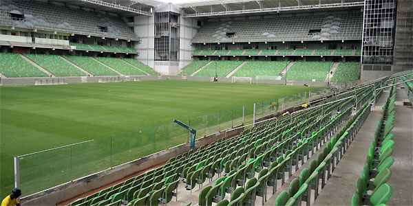 Estádio do Horto é conhecido pela pressão da torcida
